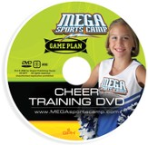 MEGA Sports Camp Game Plan Cheer Training DVD and Bonus CD-ROM