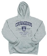 Courageous Hoodie, Gray, Extra Large