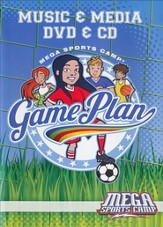 MEGA Sports Camp Game Plan Music & Media DVD & CD