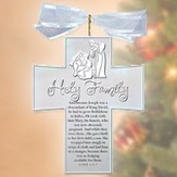 Nativity Silver Crosses, Holy Family