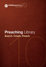 WORDsearch 10: Preaching Library