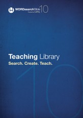 WORDsearch 10: Teaching Library