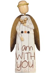 I Am With You Angel Figurine