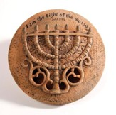 Menorah Wall Ceramic Plate