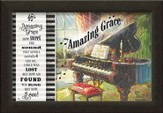 Amazing Grace, Piano Framed Art