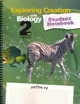 Exploring Creation with Biology 2nd Edition Student Study and Lab Notebook