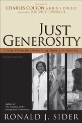 Just Generosity: A New Vision for Overcoming Poverty in America - eBook