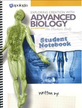 Exploring Creation with Advanced Biology: The Human  Body, 2nd Edition Student Notebook