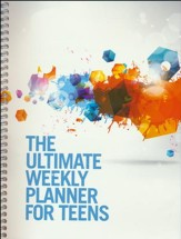 The Ultimate Weekly Planner for Teens (White Cover)