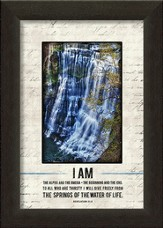 I Am the Alpha and Omega Framed Art