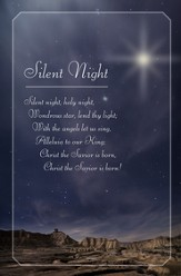 Silent Night, Holy Night Christmas Bulletins, 100