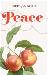 Fruit of the Spirit: Peace (Galatians 5:22-23, KJV) Postcards, Pack of 25