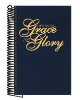 Hymns of Grace and Glory (Blue, spiral-bound)