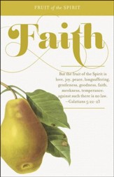 Faith (Galatians 5:22-23, KJV) Bulletins, 100 - Slightly Imperfect