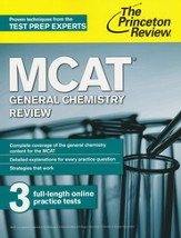 MCAT General Chemistry Review, 2nd Edition