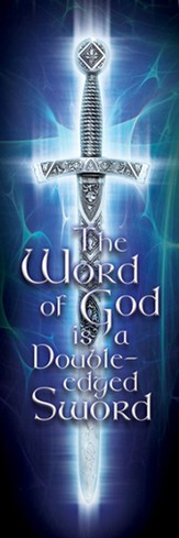 Bookmarks Adults Word of God Sword Heb 4:12 (NIV) pack of 25