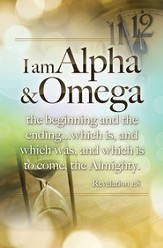 Alpha and Omega (Rev. 1:8) Bulletins, 100 Bulletins, 100