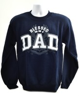 Blessed To Be A Dad Sweatshirt, XX-Large (50-52)