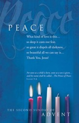 Peace (Isaiah 9:6) Bulletins, 100