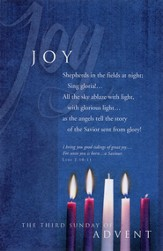 Joy (Luke 2:10-11) Bulletins, 100