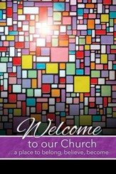 Welcome to Our Church--Welcome Folders (pkg. of 12)