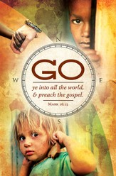Go Ye Into All the World (Mark 16:15) Bulletins, 100
