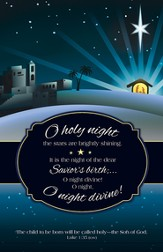 O Holy Night (Luke 1:35, ESV) Bulletins, 100