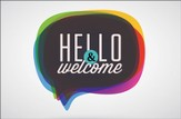 Hello & Welcome Postcards (Matthew 18:20) pack of 25