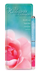 Whispers of God's Love Jumbo Bookmark and Pen Set