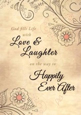 Happily Ever After Marriage Folded Certificate, 6