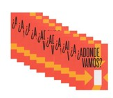 Adonde Vamos - pamphlet - pack of 10- pamphlet -  pack of 10