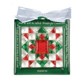Christmas Star, Quilt Block Ornament