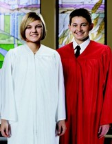White Confirmation Robe, Junior (4'11-5'2)