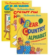 Berenstain Bears Coloring Books, 3-Pack
