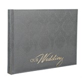 Our Wedding Guest Book, Silver