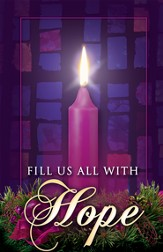 Fill Us with Hope, Advent Bulletins, 100