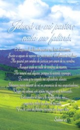 The Lord Is My Shepherd, Spanish Bulletins (Psalm 23, RVR 1960)/100