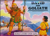 David and Goliath: Bible Story Pop Ups  - Slightly Imperfect