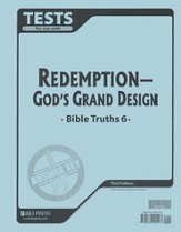 BJU Bible Truths 6: Redemption-God's Grand Design, Tests Answer   Key