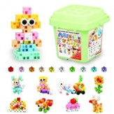 Artec Blocks Freestyle: Bucket of 112 Pieces (Pastel Colors)