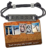Trust Corded Bracelet and Card