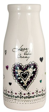 Love Like Crazy Vase