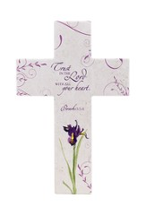 Trust In the Lord Wall Cross