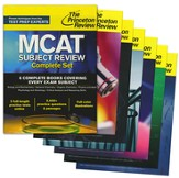 Princeton Review MCAT Subject Review Complete Set: New for MCAT 2015