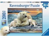 Polar Bears, 200 Piece Puzzle