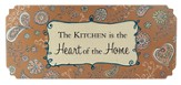 The Kitchen is the Heart of a Home Plaque