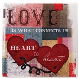 Love is What Connects Us Tile