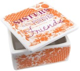 Sisters Are Forever Friends Trinket Box