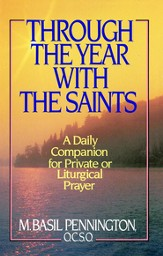 Through the Year with the Saints - eBook