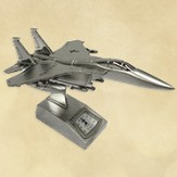 Fighter Jet Desk Clock, Psalm 118:6-7